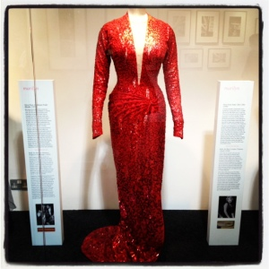 The infamous dress from 'Gentlemen Prefer Blondes.'